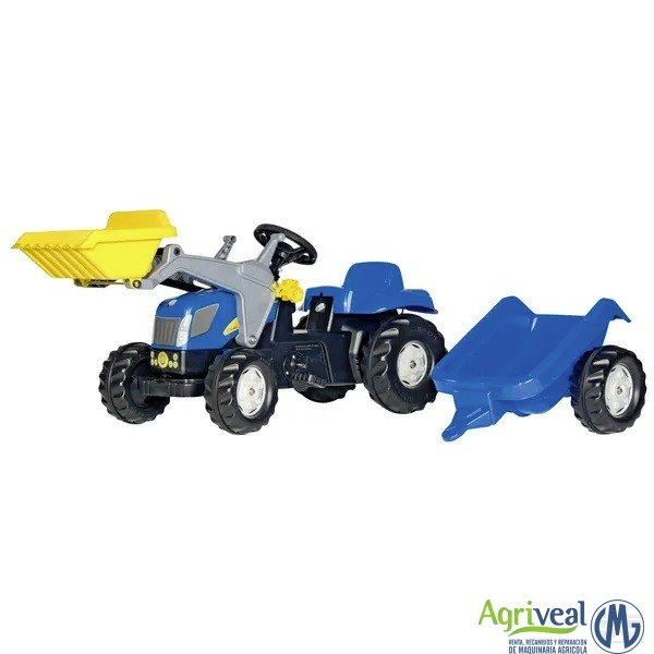 RollyKid New Holland TVT190 con cargador frontal